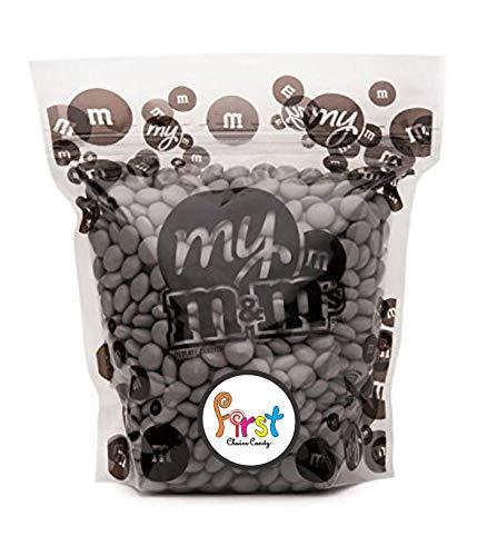All Color M&M's Milk Chocolate Bulk Candy Bag (Silver, 2 LB)