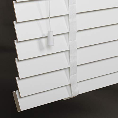 Jalousien Für Fenster,Holz Jalousien Für Weiß,Sonnenschirm,Atmungsaktiv,Echtholz Jalousien,Dunkle Eiche, 120x200cm/47x78.5in