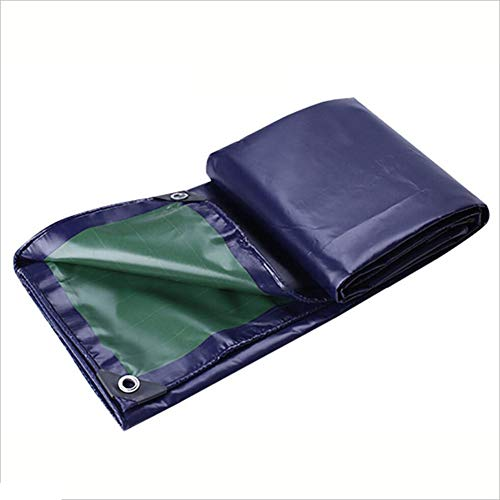 LIANGJUN Bâche De Protection Polyester Double Face Étanche Résistant À l'usure Anti-oxydation , 500g / M², Plusieurs Tailles (Color : #, Size : 1.8X2.8m)