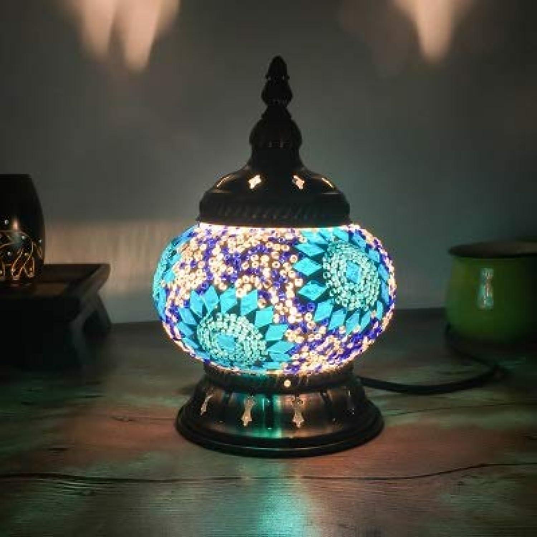 Lichtervorhang Deckenleuchte Neueste Türkische Mosaik Tischlampe Vintage Art Deco Handgefertigte Glas Romantische Bett Licht Uk Stecker C3B