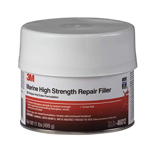 3M Marine High Strength Repair Filler, 46012, 1 Pint
