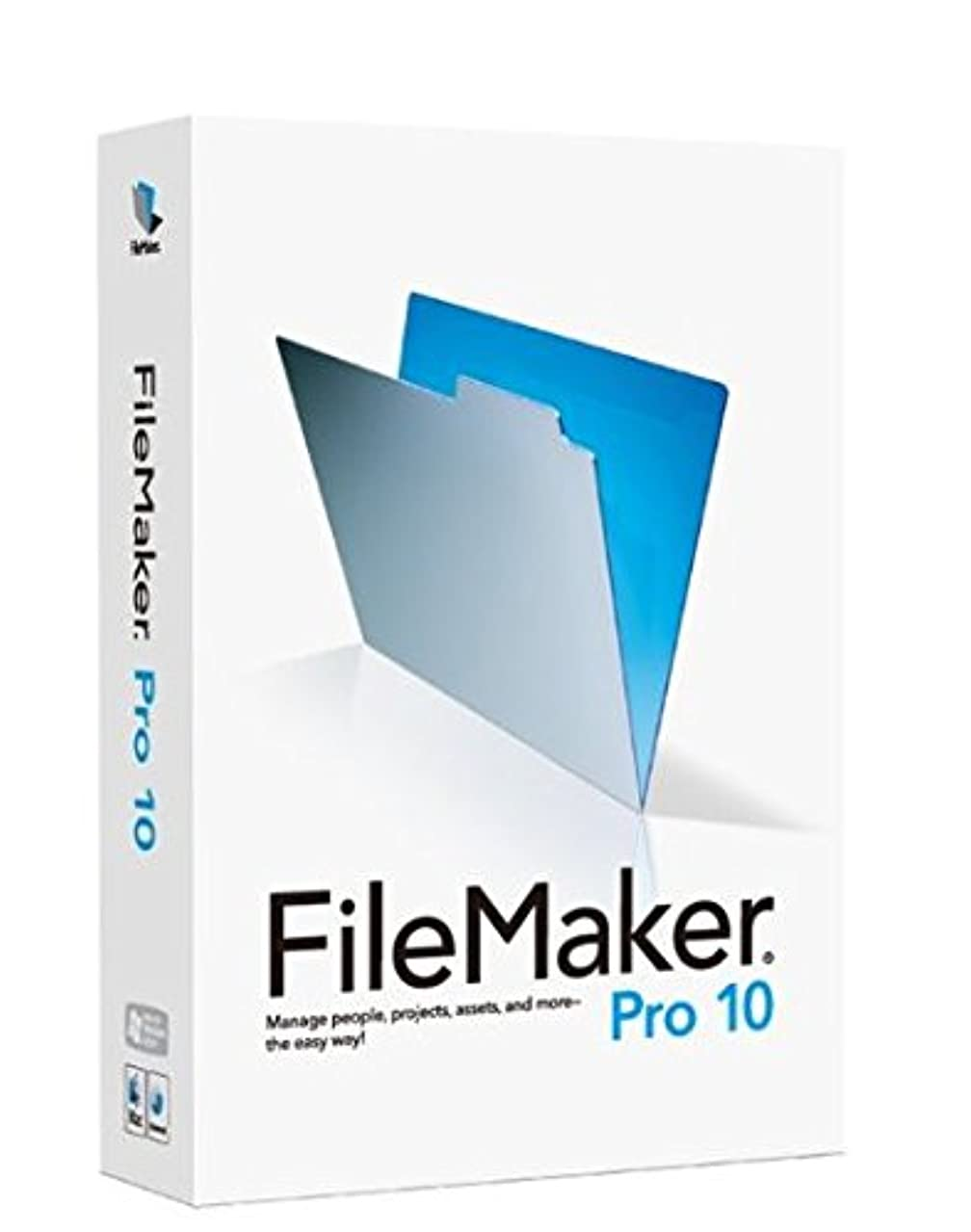 競う生き返らせる学校FileMaker Pro 10 Advanced アップグレード 日本語対応