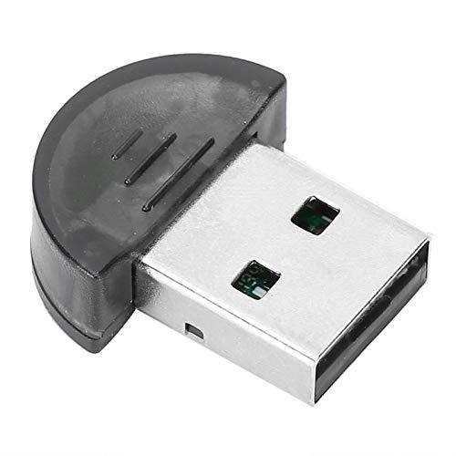 Adaptador USB 5.0 Mini Receptor Transmisor Bluetooth Mini Receptor Transmisor de Audio Dongle Bluetooth para Escritorio, Computadora Portátil, Ratón, Teclado