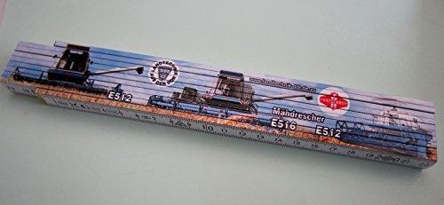 Zollstock / Meterstab 2m - Landtechnik aus der DDR - Mähdrescher E512 - E516