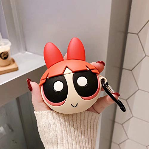 LALAPOPO Rabbit Bear Earphone Case for Funda Airpods 2 Case Cute Silicone Cartoon Animal Cover for Apple Air Pods Case Protective Accessories 610