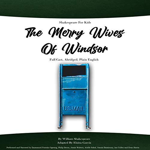 Shakespeare for Kids, The Merry Wives of Windsor cover art