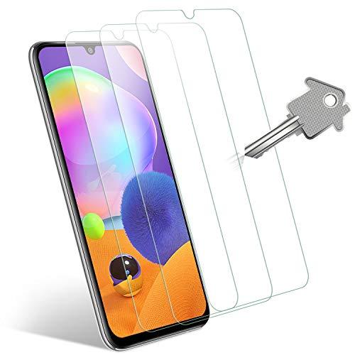 Wonantorna Pellicola Protettiva per Samsung Galaxy A31 Vetro Temperato, [3 Pezzi] [9H Durezza] [Alta Definizione] [No Bolle] [Installazione Facile] Pellicola Vetro per Samsung Galaxy A31