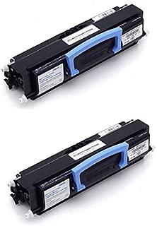 GLB Premium Quality Compatible Dell 1700, 1710, 310-7025, 310-5402, 310-7041 K3756 Black Toner Cartridge For Dell 1700, 1700n, 1710, 1710n Printers ( 2- Pack )