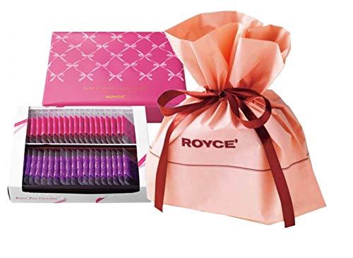 ROYCE'(ロイズ) ピュアチョコレート [スイート&ミルク] バレンタイン限定パッケージ 《バレンタイン限定ギフトバッグ付き》