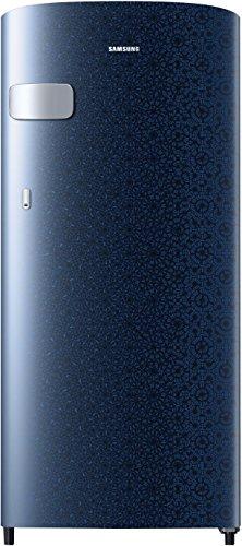 Samsung 192 L 2 Star Direct Cool Single Door Refrigerator(RR19N1Y12MU/HL/RR19N2Y12MU/NL, Ombre Blue)
