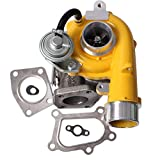 K04 Turbo Compatible with Mazda CX7 CX 7 CX-7 2007 2008 2009 2010 2011 2012 for K0422 582 581 2.3L Up to 300+ BHP L33L13700B 53047109904 Turbocharger & Gaskets Yellow Finish
