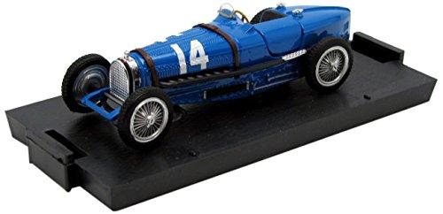 Brumm - R042 - Véhicule Miniature - Modèle À L'échelle - Bugatti Type 59 - GP France 1934 - Echelle 1/43