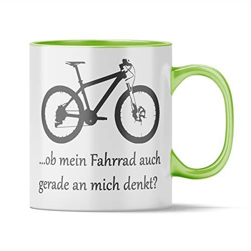 Nukular Tasse Ob Mein Fahrrad auch gerade an Mich Denkt? (Mountainbike) Toller Becher für Biker