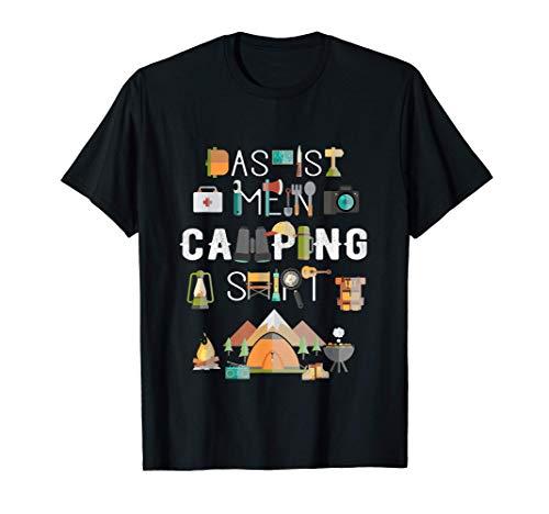 Zelten Zeltlager Geschenk Pfadfinder - Das ist mein Camping T-Shirt