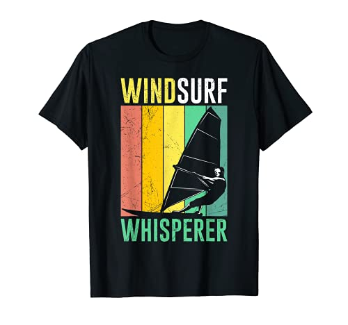 Windsurf Whisperer Windsurfer Regalo Vintage Surfer Camiseta