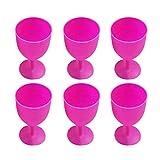 Toyvian 12 Pezzi Bicchieri di Plastica Margarita Bicchieri di Calice di Vino Rosso Tazze d...