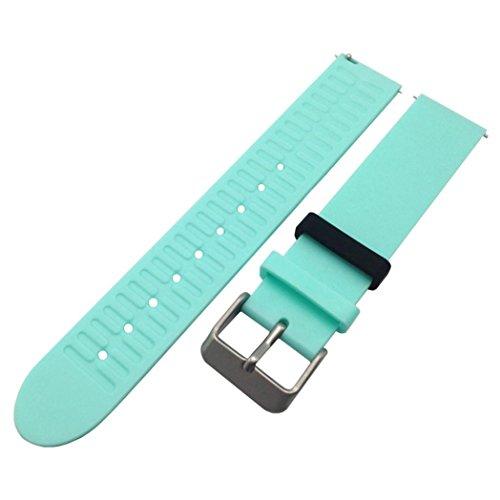 igemy New Fashion Sport Silikon Armband Gurt Band für Withings ACTIVITE Pop, himmelblau