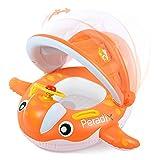 Flotador barca inflabe con respaldo para niños y bebé.