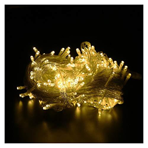 Yaoqshu Luces de Hadas Carámbano LED Impermeable Garland luz de la Navidad luz de Hadas Cadena Impermeable de la Boda del Partido del jardín al Aire Libre decoración