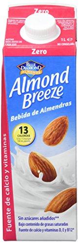 Almond Breeze Bebida de Almendra Zero - Paquete de 6 x 1000 ml - Total: 6000 ml (317)