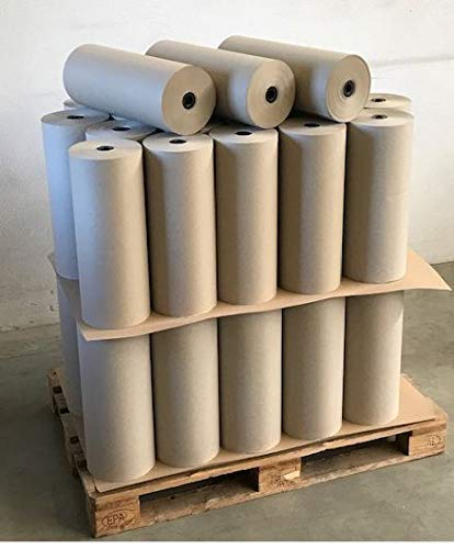 3 Rollen Schrenzpapier, Packpapier 100...