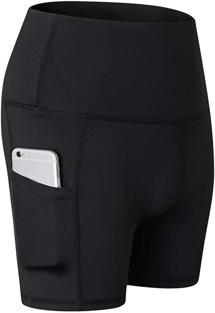 Soldering Yoga Pants for Women discount GREFER Tight Waist Sports Short High Abdome