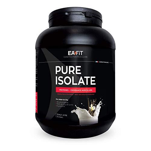 EAFIT Pure Isolate - 750 g - 81% de Protéines -...