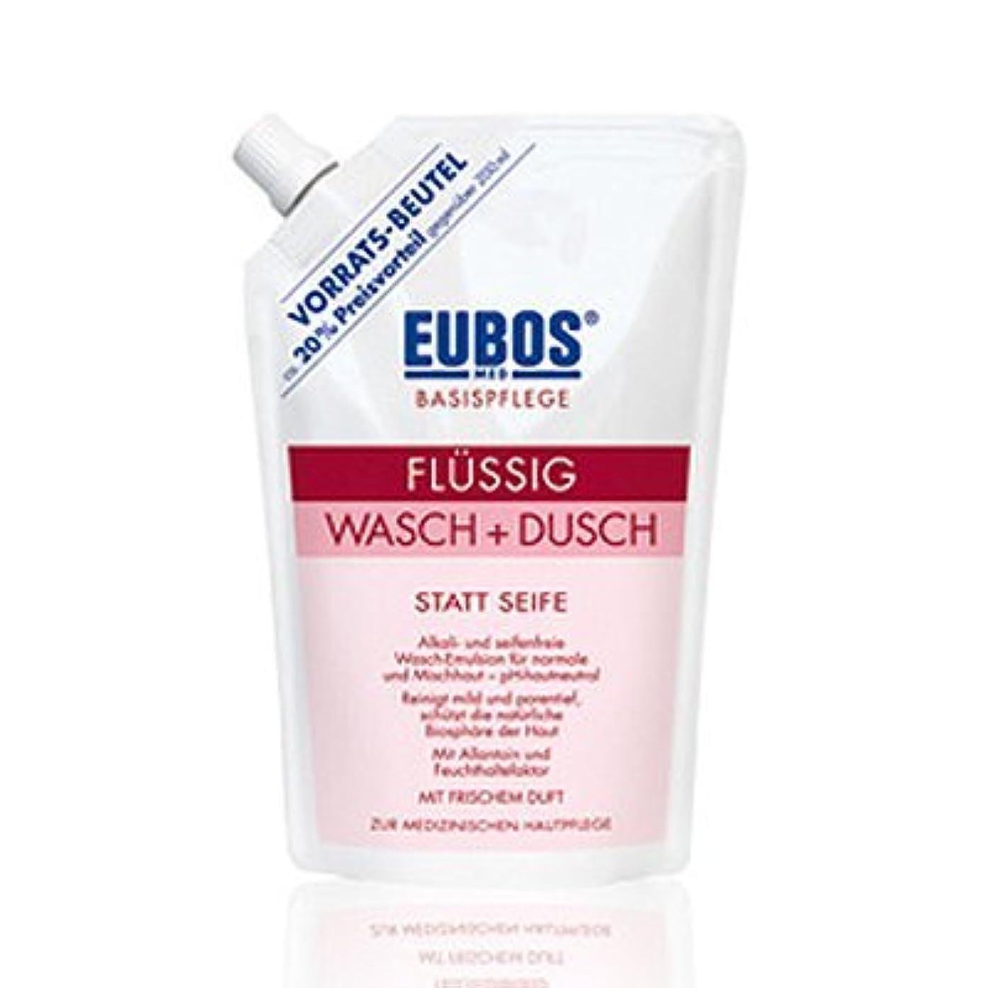 南アメリカ南アメリカトラフィックユーボス(EUBOS) フェス&ボディシャワージェルレット400ml(レフィル)/EUBOS Face&Body Shower Gel Red 400ml(Refill) [並行輸入品]