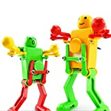 VANTIYAUS Novelty Clockwork Toy (3 Packs) Wind-up Toy Clockwork Spring Toy Funny Dancing Robot for Children Kids Baby Toy Xmas Gift