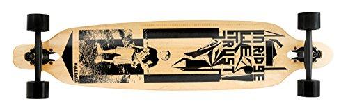 Ridge Skateboards, Longboard Unisex-Adulto, Natural, 41 Pollici