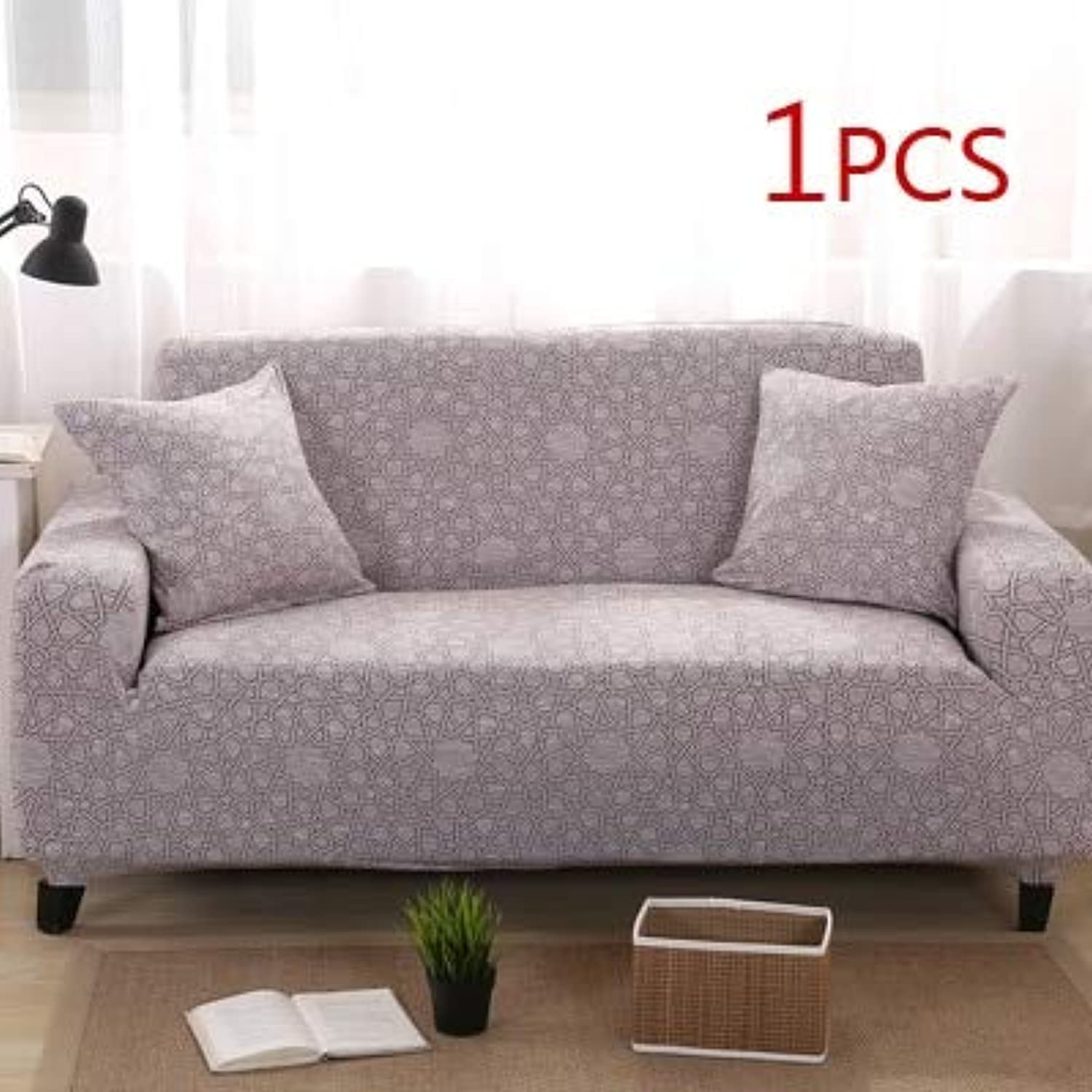 Modern Sofa Cover All-Inclusive Slip-Resistant Cheap Sofa Towel Elastic Corner Sofa Sectional Covers Spandex Sofa Slipcover 1PC   21, Two-Seater