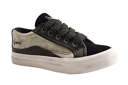 Kaporal Shoes - AMELO - Training Lacet - Noir