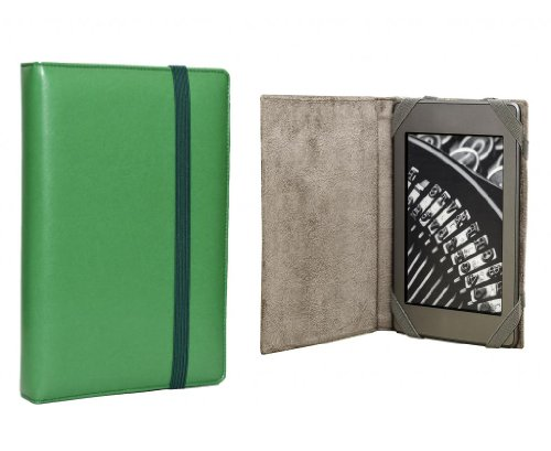 ANVAL Funda para EBOOK Sony PRS T2 Color Verde