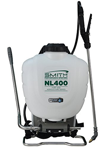 backpack weed sprayers Smith Performance Sprayers NL400 4-Gallon No Leak Backpack Sprayer for Landscapers Applying Weed Killers and Fertilizers