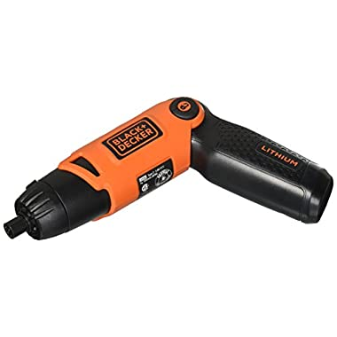 BLACK+DECKER Li2000 3.6-Volt 3 Position Rechargeable Screwdriver