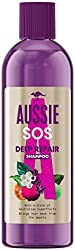Aussie Champú Para El Cuidado Del Cabello SOS Deep Repair Para Pelo Dañado, 290 ml