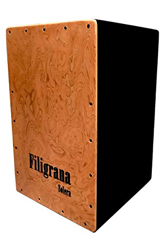 Cajon Flamenco Filigrana Solera