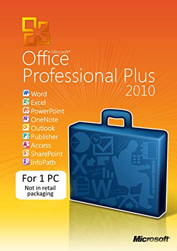 Microsoft Office Professional 2010 1USER (1 PC/Descarga) []