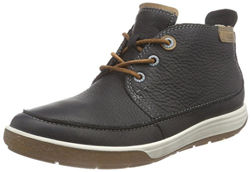 Ecco Damen CHASE II Chukka Boots, Schwarz (BLACK/WHISKY 58774), 36 EU