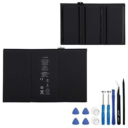E-yiiviil Batería de repuesto A1389 compatible con Pad 3 4 A1389 616-0591 616-0592 A1460 A1459 A1458 con herramientas