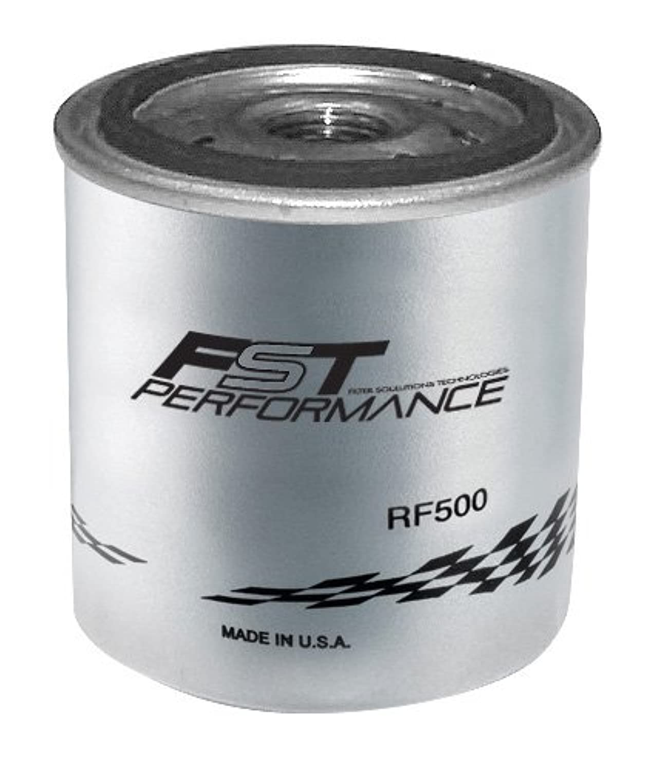 FST Performance RF500 Silver 4 Micron Rating Replacement Fuel/Water Separator Filter for RPM300/350