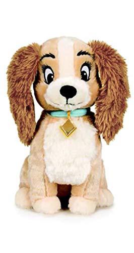 Disney Lilli e Il vagabondo - Peluche 11'81'/30cm cagnetta Lilli qualità Super Soft.