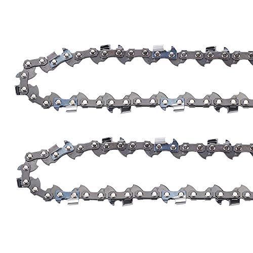 Anzac 30254EG 8-Inch Electric Pole Saw Chain Replacement for Homelite UT-43160 Ryobi RY43160 RY43161 Pole Saw 901289001 2 Pack