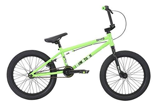 """Haro Downtown 18"""" 2018 Bicicleta BMX Freestyle (18"""" - Verde)"""