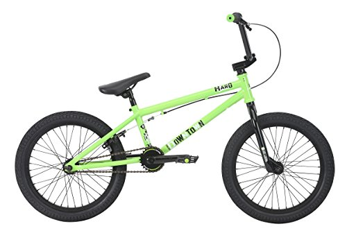 "Haro Downtown 18"" 2018 Bicicleta BMX Freestyle (18"" - Verde)"