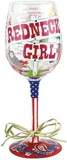 Lolita Wine Glass, Redneck Girl