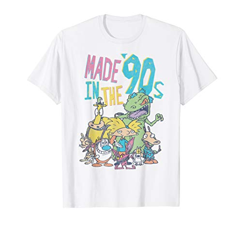 Nickelodeon Made In the 90s Character T-Shirt T-Shirt