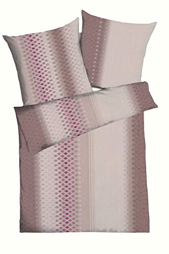 Kaeppel Mako-Satin-Bettwäsche 609-675 + Aufbewahrungsbeutel 135x200