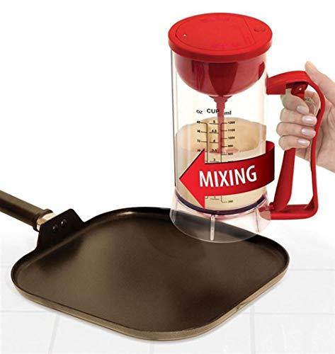 Elektrischer Pfannkuchenteig Mixer Spender Cupcake Mixer Maschine Zur Herstellung Von Mix Cakes Waffeln Messbecher Muffin Helfer Backen Küchenwerkzeug