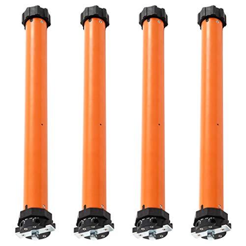 Bulufree Motores tubulares de 4 Piezas, par de Salida 30 NM, Utilizado para la automatización de toldos, Puertas de Garaje, persianas enrollables y parasoles